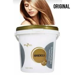 Condicionador Hidratante Deep Mandioca Balde 3,5kg Mairibel<br><br>