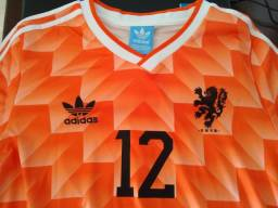 Camisa Retrô Holanda 1988 - Raridade ? Relíquia