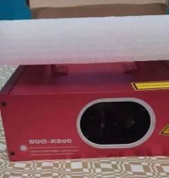 laser show verde e vermelho k800