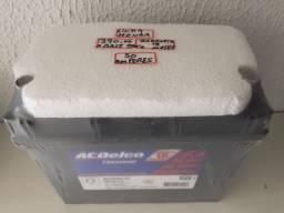 Bateria ACDelco 50ah linha Honda  a base de troca com garantia de 18 meses instalada