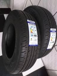 Par de pneus para caminhonete novos Aro 16 - preço do par