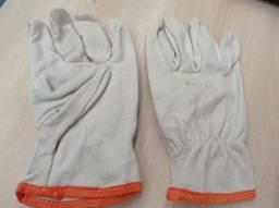 Luvas de proteção couro de vaqueta