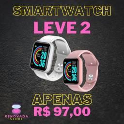 Smartwatch compatível com Smartphones e iPhone
