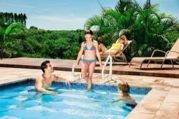 Corrimão e hidrojato para piscina