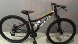Bicicleta aro 15, com nota, na garantia. Usada 3x