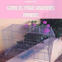 Gaiola para variados animais
