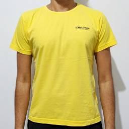 Camiseta Amarela Estampada Cobra D'água