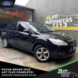 Focus Sedan 2010 Automático Flex Completo Mensais a partir de 409,00
