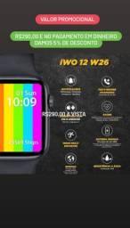 Relógio inteligente W26 Faz/recebe chamadas