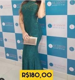 Título do anúncio: Vestido de festa verde musgo