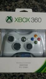 Controle Xbox 360 Sem Fio Wireless Controller Novo