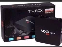 Tv box PRO - 4GB de RAM e 64GB de Memória Interna