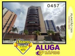 Manaíra, 2 suites, DCE, 2 vagas, 210m², R$ 3.800 C/Cond, Aluguel, Apartamento, João Pessoa