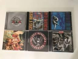 CDs Guns N Roses, Oasis, Velvet Revolver, The White Stripes