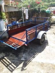 Carreta Rodoviária com Eixo em Aço Inox