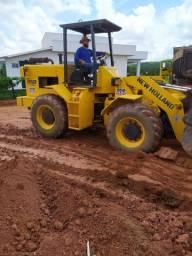 Pa carregadeira vendo ou troco por escavadeira hidráulica