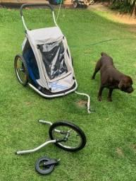 Bike Trailer- bicicleta- Marca Xlc Duo