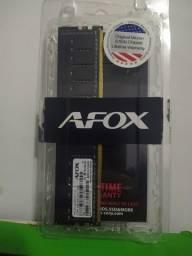 Memoria RAM DDR4 4gb Afox memory 2400mhz.