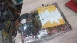 Placa mãe dd2 com 2 giga de memória valor 150.00