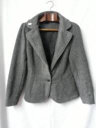 ***Blazer de lã cinza - R$ 25,00 ?***