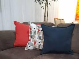Conjunto de almofadas decorativas para sofá