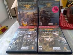 Coletânea de jogos SOCOM 1,2,3e4 todosoriginais.