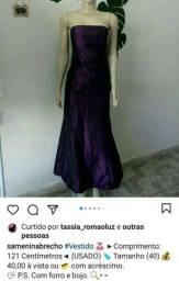 Vestido Sensitive 40 LEIA O ANÚNCIO