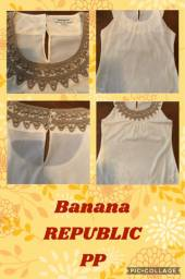 Blusa Banana Republic PP