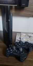 Playstation 3 play com manete e jogos