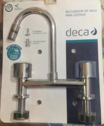 Torneira/Misturador de bancada DECA 1256-c35, na embalagem!