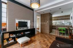 Apartamento à venda com 1 dormitórios em Moinhos de vento, Porto alegre cod:214317