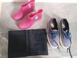 Vendo calçados e cinta