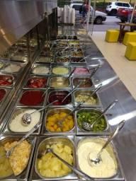 Balcão para açaí e sorvete,sorveteria,loja de açaí