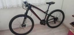 Bicicleta Colli Toro aro 29 24v freio a disco hidráulico