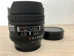 Lente Nikon Fisheye 16 mm 2.8 ( Estado de Zero )