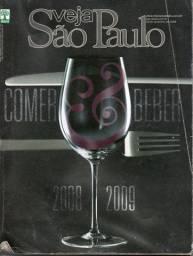 Revista Veja São Paulo - Comer & Beber - Guia 2008/2009 - Equipe da Revista Veja