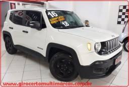 Jeep Renegade 1.8 Sport 4X2 ! Ano 2016 !Único Dono! Banco de Couro Até 100% financiado