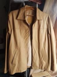 Jaqueta de couro, nova