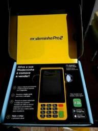 Máquina de cartão moderninha pro2/ nova