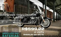Bateria Moto Moura 18 Ah 12v Harley Davidson e jet sky