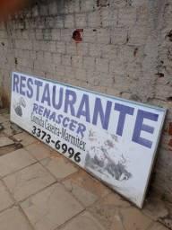 Placa de restaurante