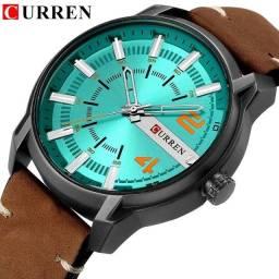 relógio currem 8306  ordinal resistente a água! modelo clássico