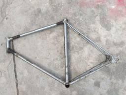 Quadro e garfo caloi 10 bicicleta antiga ano 1976