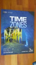Livro Time Zones Combo Split 2B -segunda edição