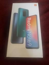 Vendo smartphone xiaomi redmi note 9 de 4gb de ram e 128 GB de memória