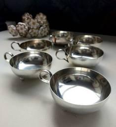 Taças de prata