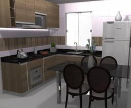 Apartamento com 3 quartos, sendo 1 suíte, 1 banheiros