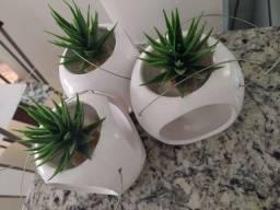 Trio de vasos pendente
