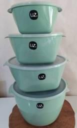 Conjunto vasilhas Uz