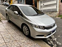 Civic LXS 2012 automático com banco couro IPVA 2021 PAGO !
